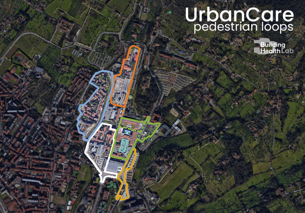 UrbanCare pedestrian loop_ Careggi_A